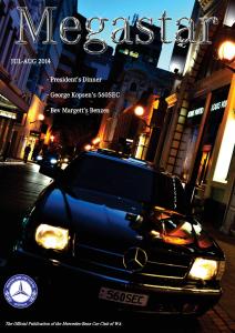 Club Magazine – Mercedes-Benz Car Club of Western Australia ... on mercedes sprinter, mercedes e320, honda club, jeep club, mercedes dealer, mercedes w126, mercedes coupe, mercedes price, used mercedes, mercedes benz slk 350, used mercedes benz, mercedes kompressor, photography club, mercedes benz e320, mercedes interior, mercedes sl500, mercedes diesel club, audi club, mercedes service, mercedes diesel, jaguar club, mercedes vito, mercedes car club of america, classic mercedes, mini cooper club, hummer club, mercedes benz diesel, mercedes benz dealerships, mercedes benz dealer, nissan club, austin club, 2005 mercedes benz, mercedes star,
