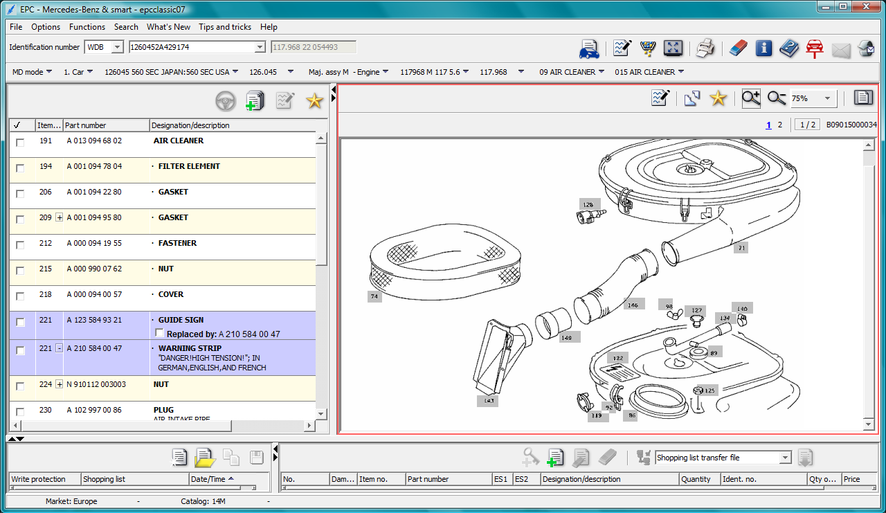 Mercedes parts diagram online periodic diagrams science for Mercedes benz parts and accessories online
