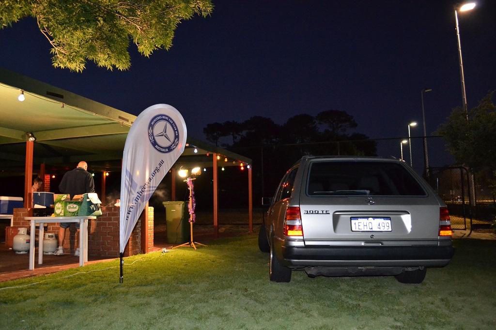 Outside the South Perth Lawn Tennis Club