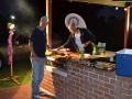 Phil Smythe and John Seman were on BBQ duty