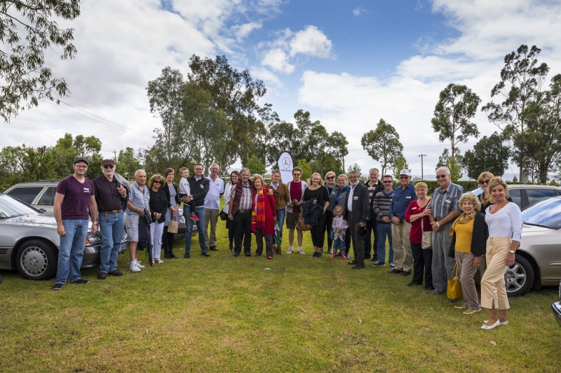 Members gathered at the Margaret River Chocolate Factory