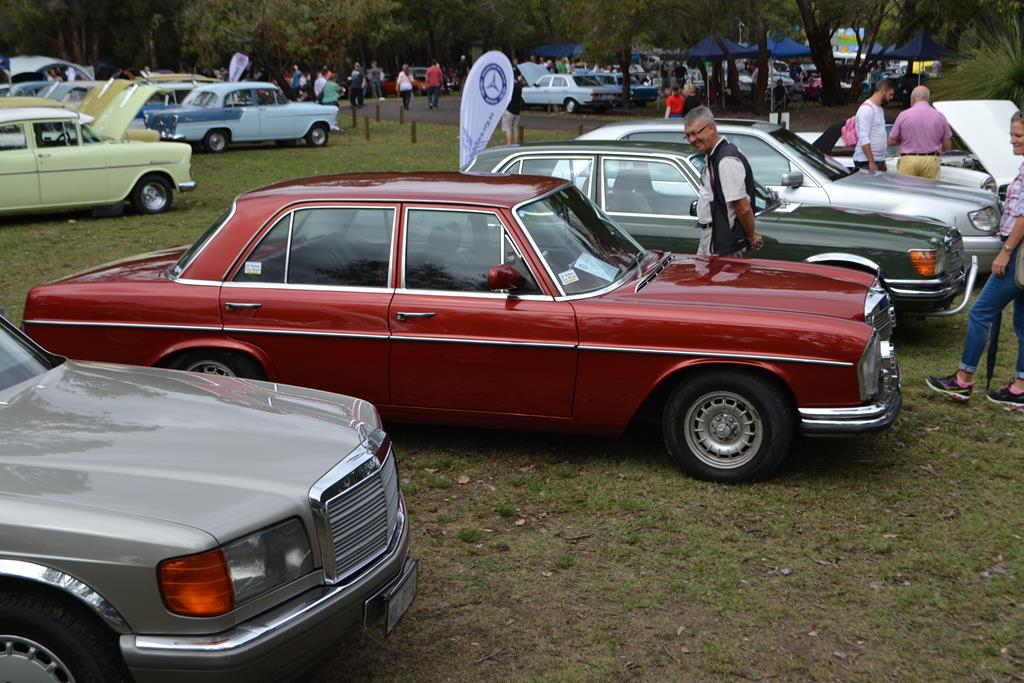 2016 classic car show mercedes benz car club of western
