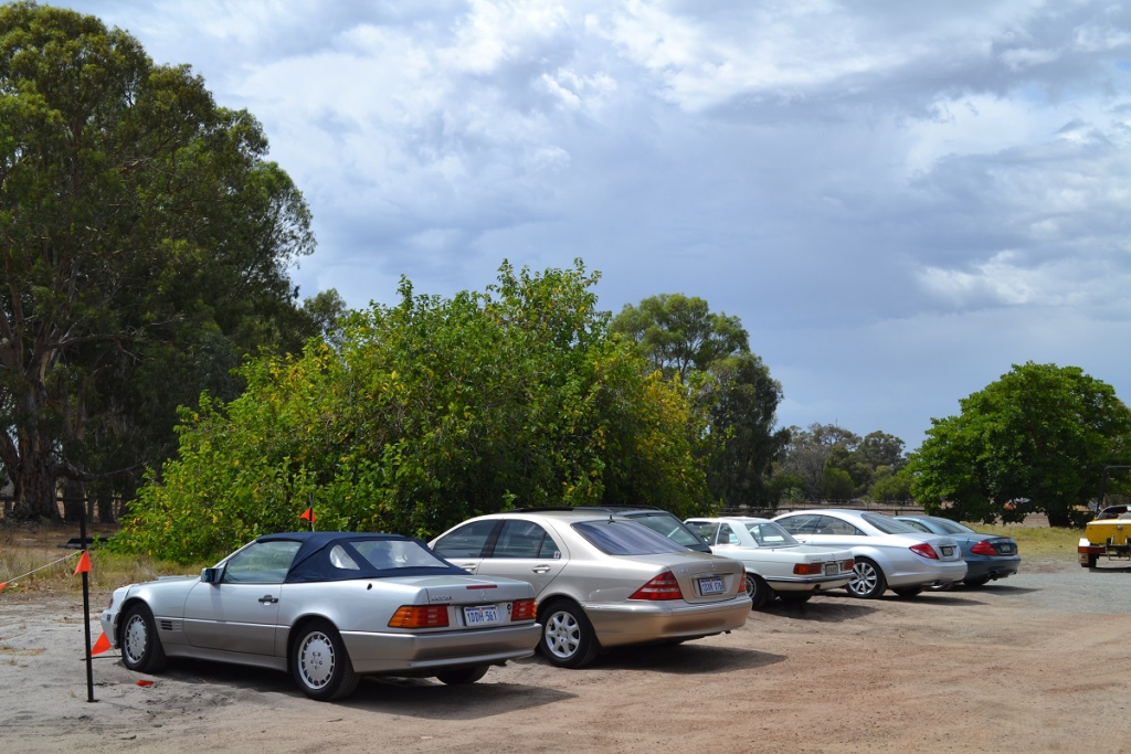 Members took over the carpark at Miami Bakehouse