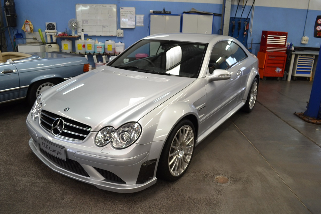The Black Series theme continued with this C204 C63 Black Series