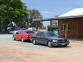 W126s pose at the half-way point, at Miami Bakehouse, West Pinjarra
