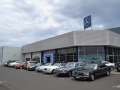 Members cars line up at Mercedes-Benz Bunbury
