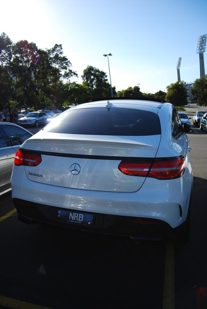 A brand new GLE coupe