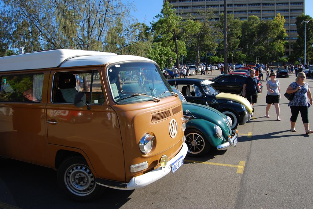 All of the major German marques were represented on the day