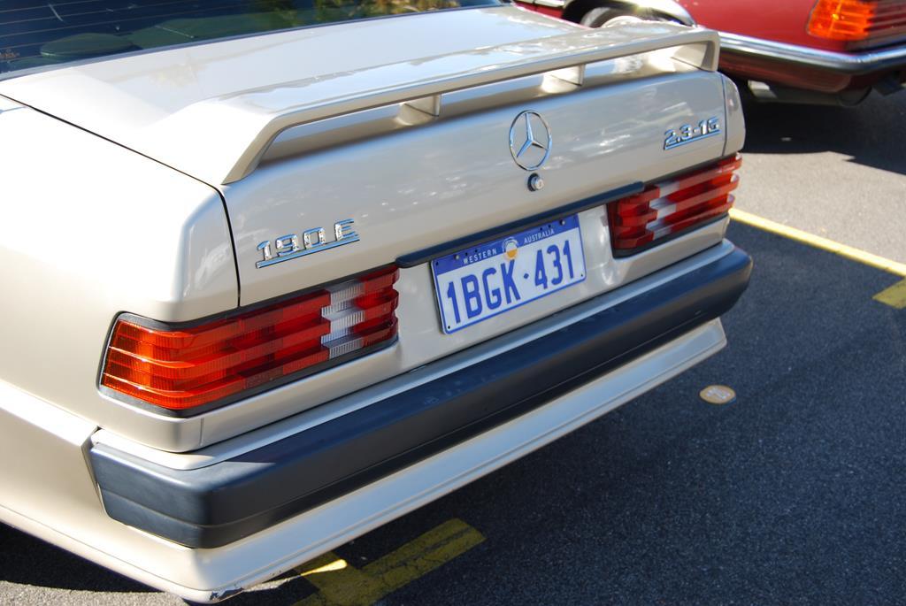 Very few 190E 2.3-16s exist in Australia