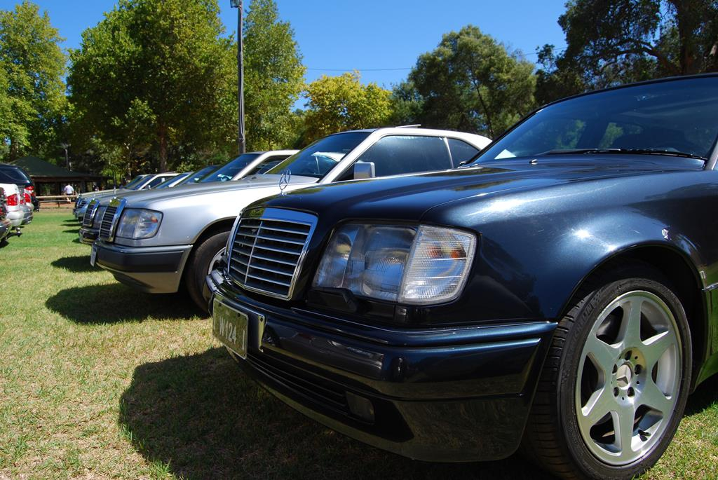 A W124 E500, believed to be the only one in Perth