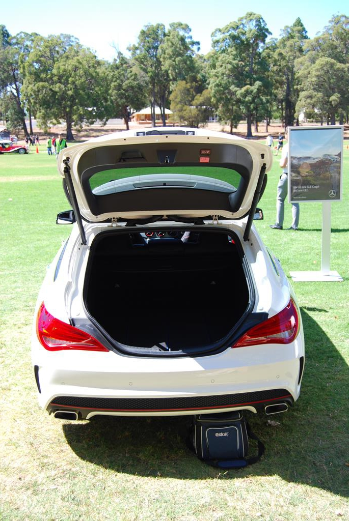 Southpoint Star provided a CLA250 for the display in Dwellingup