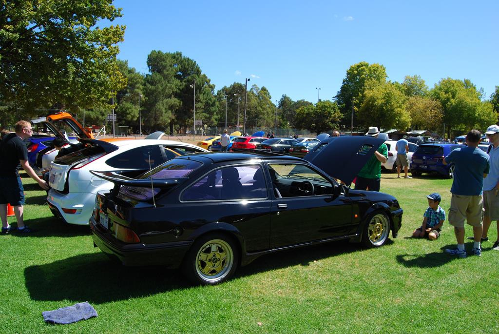A Ford Sierra RS Cosworth