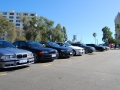 BMWs line up in East Perth